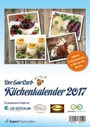 - REDUZIERT - Der Low Carb-Küchenkalender 2017