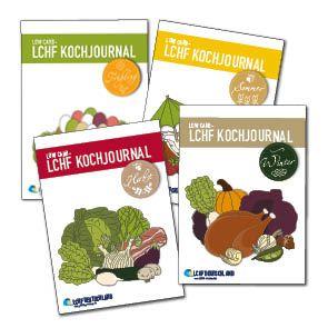 LOW CARB - LCHF Kochjournale 4-Jahreszeiten-Bundle 2015 - Restbestand