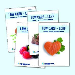 LOW CARB - LCHF Magazin, Jahrgang 2015, Ausgabe 1-4