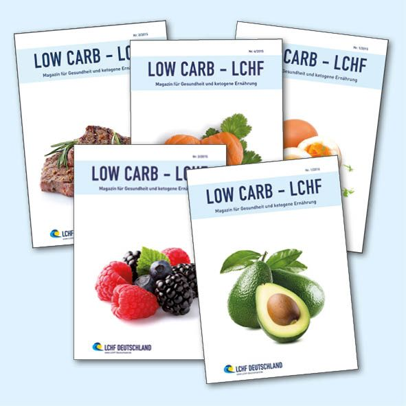 Abo LOW CARB - LCHF Magazin