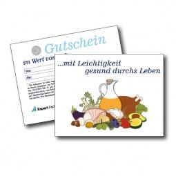 LCHF - Geschenkgutschein im Wert von 15 Euro